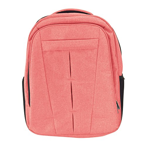 DALIX Signature Laptop Backpack with Multiple Pockets in Red