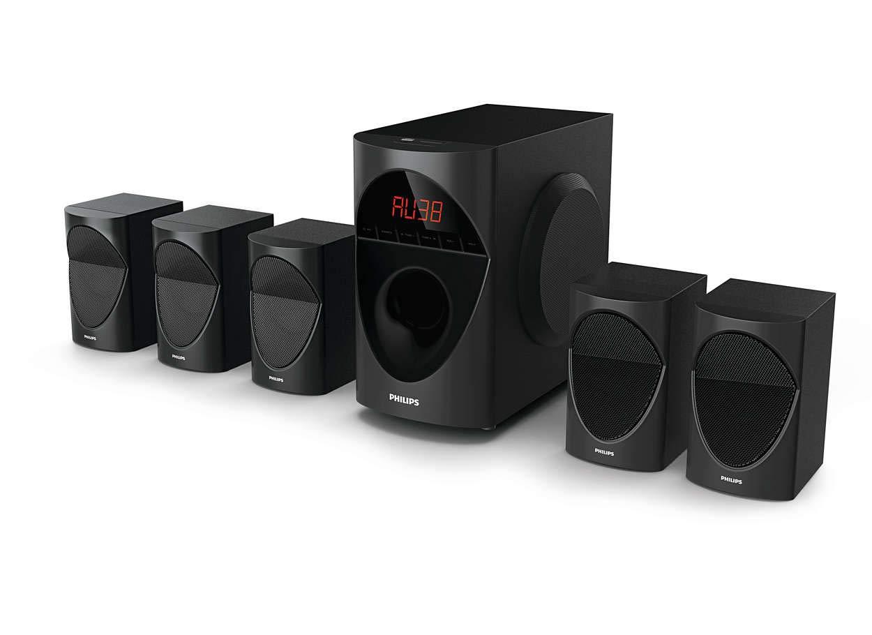 Philips in-SPA 5190B/94 Multimedia Speaker System