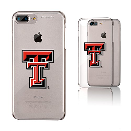 Keyscaper Texas Tech Clear Case for the iPhone 6+/6S+/7+/8+ NCAA - Ncaa Licensed Products Basketball