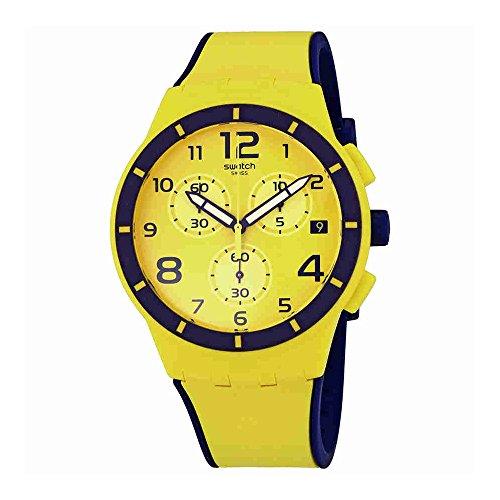Swatch SUSJ401 Chrono Plastic Solleore Unisex Watch