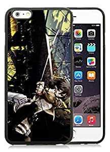 Fashion Designed Shingeki no Kyojin 3 Black iPhone 6 Plus 5.5 Inch Phone Case