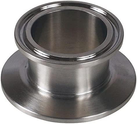 """Solid End Cap 2.5 inch Pack of 2 Triclamp EG1842.5 Stainless Steel 2.5/"""" 304"""