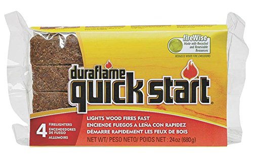 Duraflame Quick Start 12 Fire Starters Starts Fires Quickly and Easily (Quick Start Fire Starter compare prices)