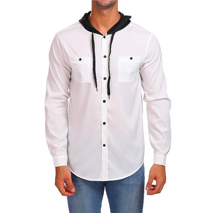 Yvelands Despacho de Camisas para Hombres, Sudaderas con Capucha para Hombre Novedad Sudaderas activas SudaderasCamisetas