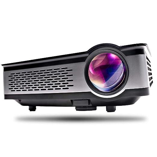 XWEM Mini Proyector, Full HD 3000 Lúmenes Video Apoyo 1080P HDMI ...