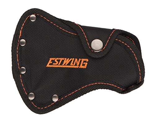 Estwing #27 Sportsman's Axe - Camper's Hatchet Sheath - Black with Orange Stitching - Fits E24A & EO-25A