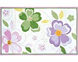 The Rug Market 12352B Handmade Rugs, Flower Stitch, Multicolor