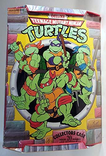 Deluxe Teenage Mutant Ninja Turtles Collectors Case 1990 at ...