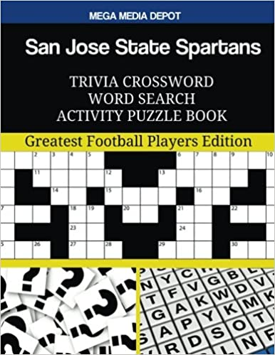 San Jose State Spartans Trivia Crossword Word Search ...