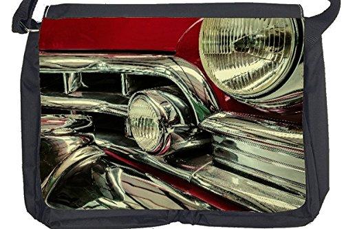 Borsa Tracolla Garage Vintage Stampato
