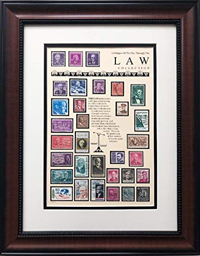 S.T.A.M.P.S Stamps Law Collection Framed Stamp Art 15