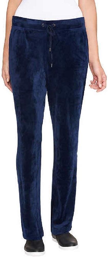 Gloria Vanderbilt Ladies Jemma Ultra Soft Velour Pants