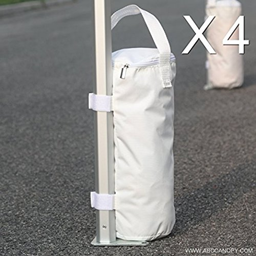 Abccanopy Portable Canopy Weight Sand Bags For Instant