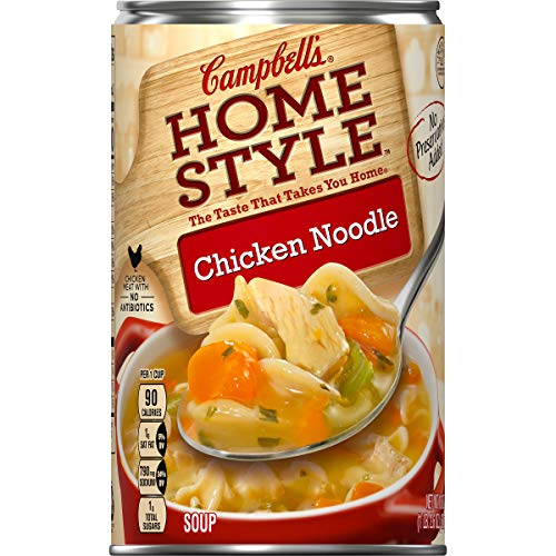 Campbell's Homestyle Soup, Chicken Noodle, 18.6 oz. (Pack of 12) ()
