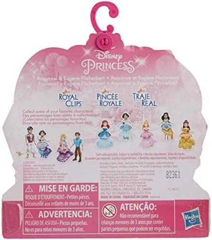 Amazon Com Disney Princess Rapunzel Eugene Fitzherbert 2 Dolls Royal Clips Fashion One Clip Skirt Toys Games