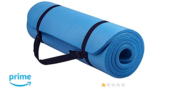 Amazon.com : Prosmart - 6mm Yoga Mat with Carrying Strap ...