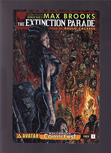 AVATAR COMICS THE EXTINCTION PARADE 2014 HALLOWEEN COMICFEST EXCLUSIVE VARIANT ()