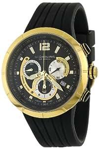Stuhrling Original Men's 224.33363 Aviator Phoenix Swiss Quartz Chronograph Watch