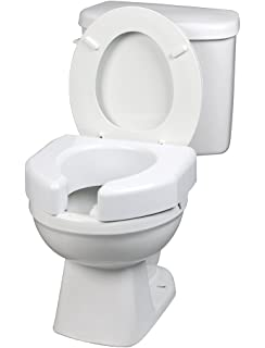 bemis raised toilet seat. Ableware Basic Open Front Elevated Toilet Seat  725790000 Bemis 3L2155T 000 Medic Aid Plastic Raised