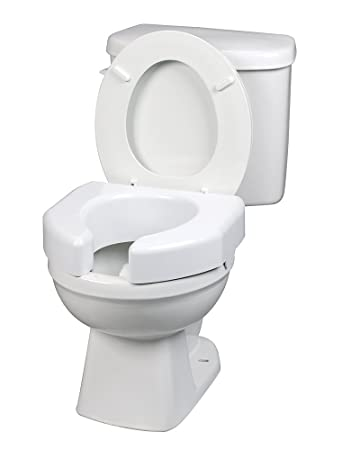 self opening toilet seat. Ableware Basic Open Front Elevated Toilet Seat  725790000 Amazon com