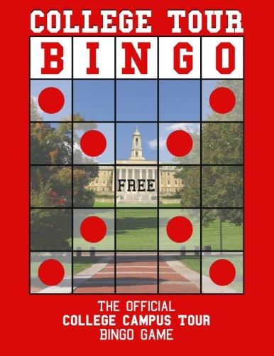 College Tour Bingo: The Official College Campus Tour Bingo Game pdf