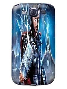Custom cartoon design tpu skin back cover case for Samsung Galaxy s3 of Chris Hemsworth Thor in Fashion E-Mall by mcsharks