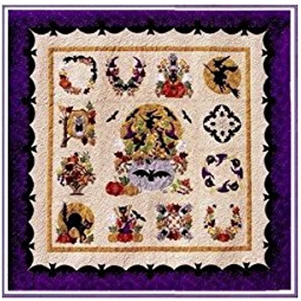 By: P3 Designs Pearl P Pereira Complete Set BALTIMORE CHRISTMAS Block Of The Month Applique Quilt Pattern