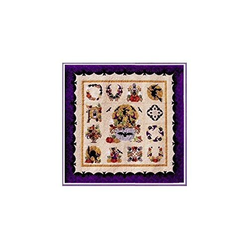 Baltimore Album Halloween BOM P3 Designs Set 13 Quilt Patterns