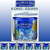 My Shaldan Air Freshener Squash Scent (D41SQ) - QTY. 6 Cans