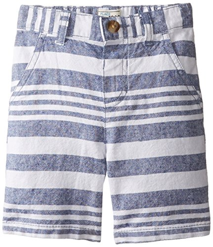 The Children's Place Little Boys' Pull-On Linen Stripe Short