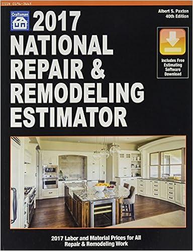 National Repair & Remodeling Estimator 2017 (National Repair