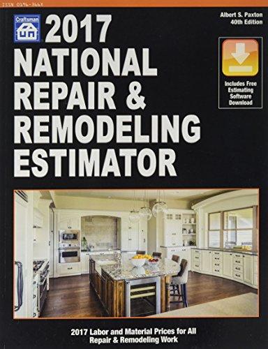 National Repair & Remodeling Estimator 2017 (National Repair and Remodeling Estimator)