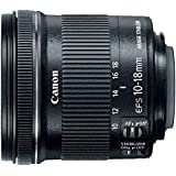 Canon 佳能 EF-S 10-18mm f/4.5-5.6 IS STM 单反镜头 黑色
