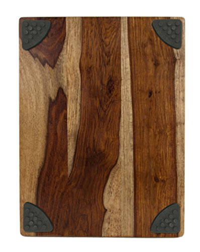 Architec gripperwood gourmet sheesham cutting board 10 by for Architec cutting board