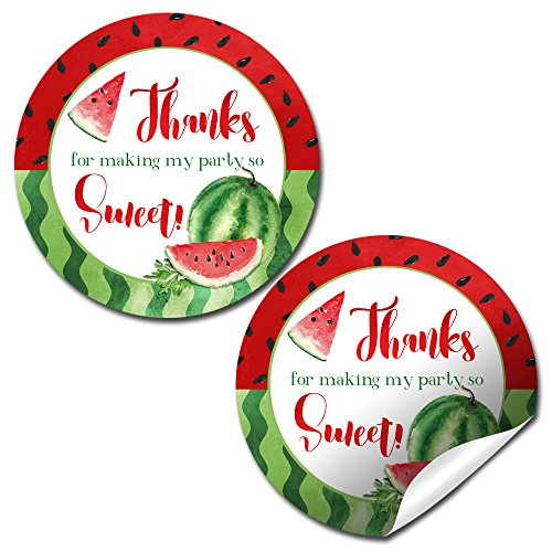 Watercolor Watermelon Thank You Sticker Labels, 20 2