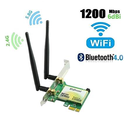 Tarjeta WiFi, tarjeta de red inalámbrica, tarjeta WiFi de ...