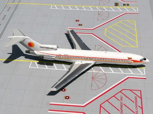 Gemini Jets B727-200 National Airlines (Sun King), Scale 1/200 by GeminiJets