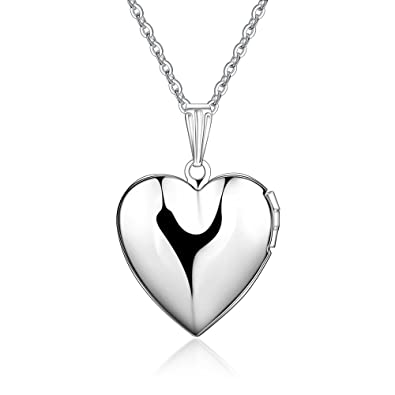 Amazon.com: Hoyoo Jewelry - Collar con colgante de corazón ...