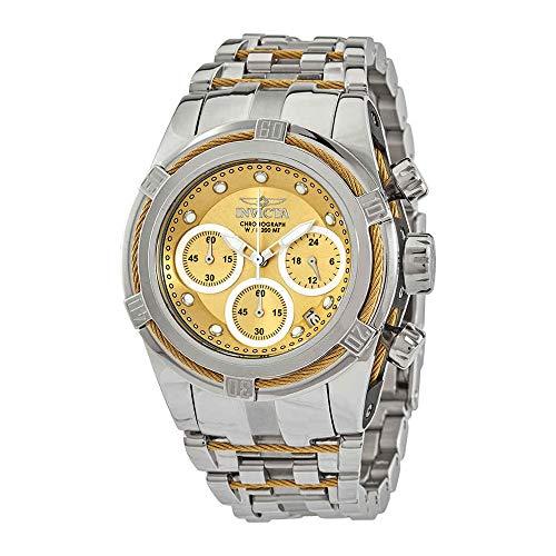 Invicta 27857 Women's Bolt Zeus Gold and Silver Tone Dial Watch (Invicta Womens Silver Dial)
