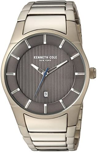 Kenneth Cole New York Men s Slim Quartz Stainless Steel Dress Watch