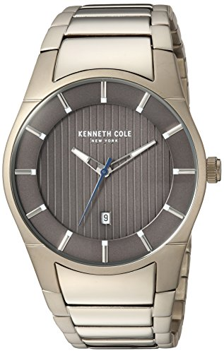 Kenneth Cole New York Men's Quartz Stainless Steel Casual Watch, Color:Gold-Toned (Model: KC15103013)