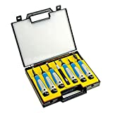 NOGA SP7700 7 Pc. Complete Deburring Tool Set in Plastic Case