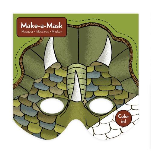 [Mudpuppy Dinosaurs Make-a-Mask] (Dinosaur Hats)