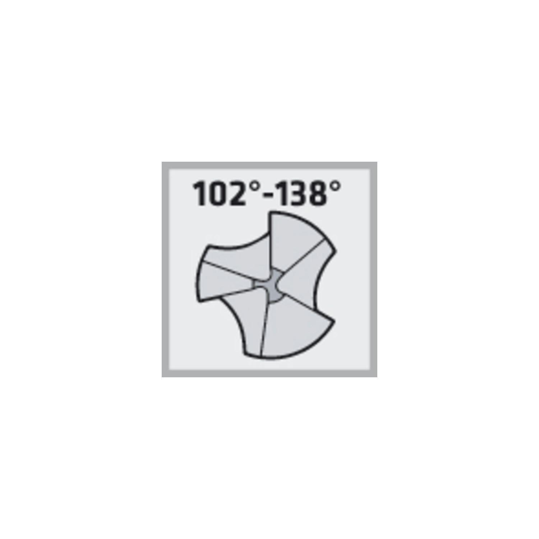 MAYKESTAG 229003100100 Kegelsenker DIN335C Z=3 90 Grad HSS Co5 mm33, Zylinderschaft 12 mm