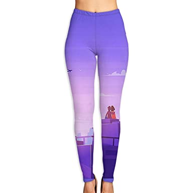 d3a964eb Amazon.com: Valentine's Day Love City Workout Pants/Yoga Pants for ...
