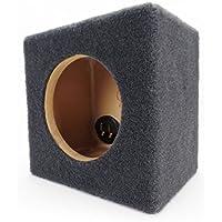 0.15 ft^3 Sealed MDF Sub Woofer Enclosure for Single JL Audio 6.5 W3v3 (6W3v3) Car Subwoofer - 1/2 Premium MDF Construction - Made in U.S.A.