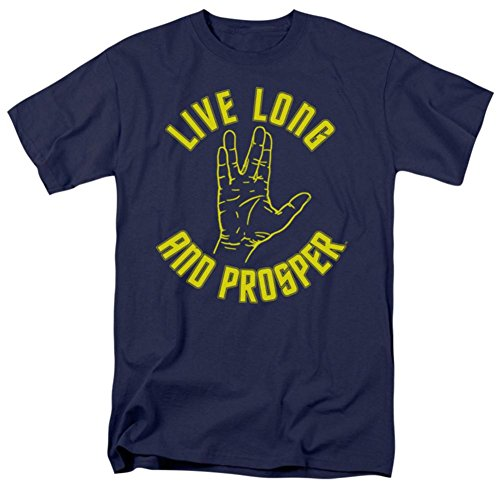 Star Trek T-Shirt Live Long and Prosper Original Series XXL