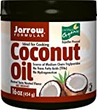 Jarrow Formulas Coconut Oil 100% Organic, for Cardiovascular Health, 16 Ounces