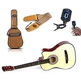 Zimo® Folk 38 inch Guitar Tuner Strap Case Guitar Sets
