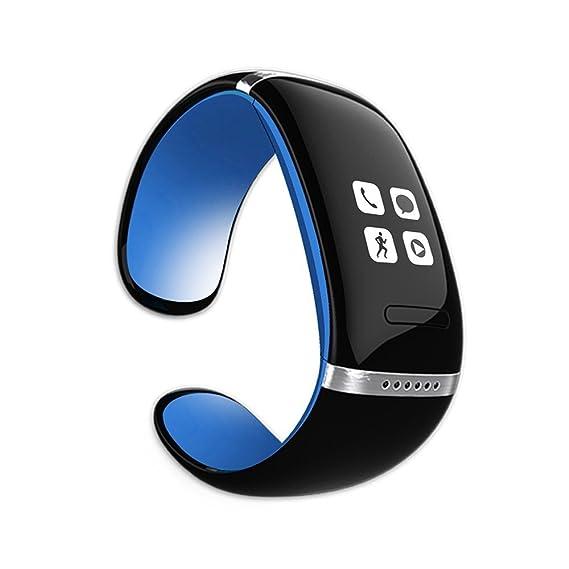CursOnline® - Reloj de pulsera con Bluetooth, altavoz, MP3, modelo ligero,